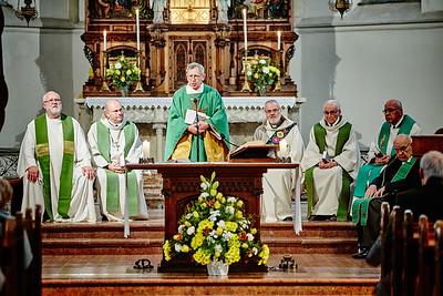 Festmesse für Pater Leo Fürst