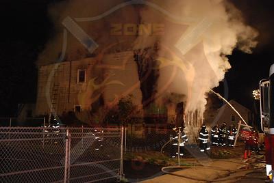 Hempstead F.D. Working Fire Clinton C. Boone Pl. 11/12/07