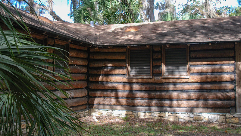 CCC building at Myakka River State Park