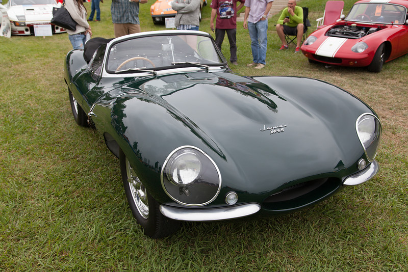 Steve McQueen's 1956 Jaguar XKSS - D-Type. (On display courtesy, The Peterson Museum)