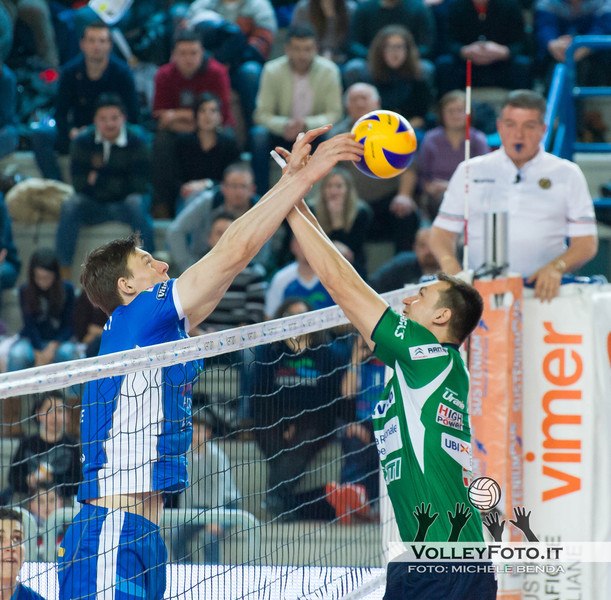 Bohme e Sokolov Vivi Altotevere San Giustino - Bre Banca Lannutti Cuneo > 9ª Giornata di ritorno, Campionato Italiano di Volley Maschile, Serie A1, 2012/13