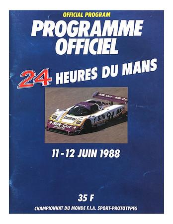 1988 Le Mans JUNE -  JAGUAR WIN