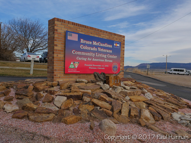 Colorado State Veterans Home - Florence, CO - M60A0