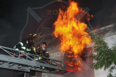 Hempstead F.D. Woking Fire 56 Oak Ave. 11/10/12