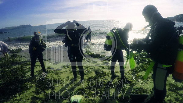 SDSDA Ex31 Check Out Dive Thurlestone Rock Photo Gallery