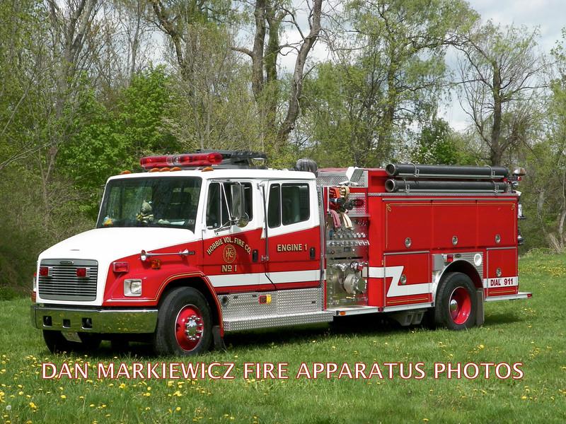 HOBBIE VOLUNTEER FIRE CO. ENGINE 142 1998 FRT/E-ONE PUMPER
