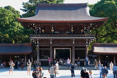 Meiji Jingu Shrine and Harajuku