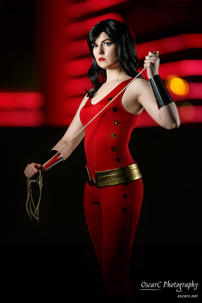 Wonder Girl (Lady Staba) from DC Comics