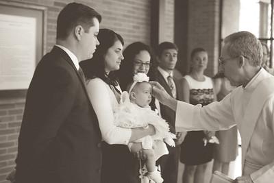 Emilia Roberts Baptism