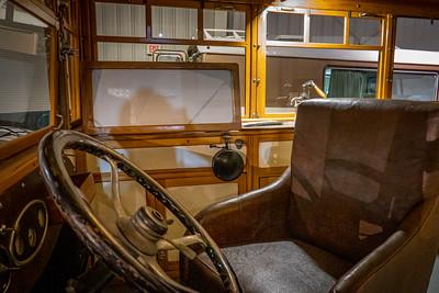 1929 Wiedman Housecar Interior Driver's Seat