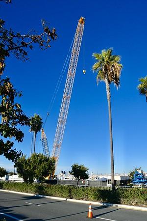 Spacex Rocket return San Pedro Dec. 2018