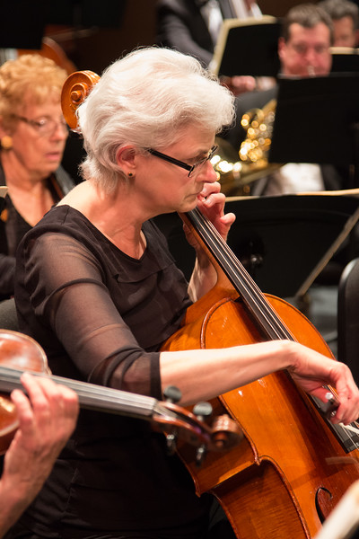 Nancy Bridges -- Symphony of the Potomac at the Cultural Arts Center, Silver Spring, MD, February 2018.