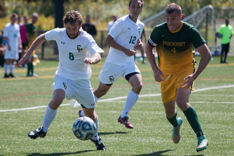 Clarkson Athletics: Men Soccer vs. Brockport, Clarkson win 1 to 0