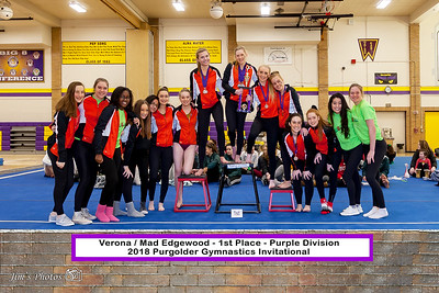 HS Sports - Purgolder Gymnastics Invite [d] Jan 13, 2018