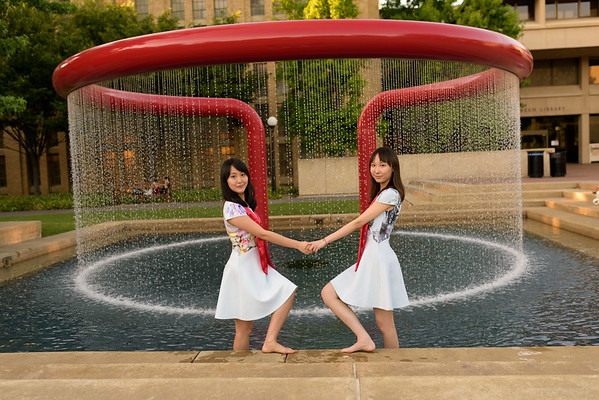 Amy and Jody (Graduation Portraits) at Stanford Campus