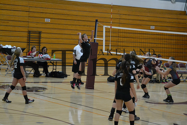 Lakeland JV Volleyball at Antigo 10-8-13