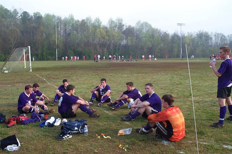 4/8/2001 ECU Club Soccer at Clemson tournament