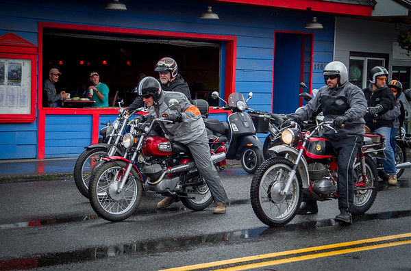 Vintage Motorcycle Enthusiasts 2015