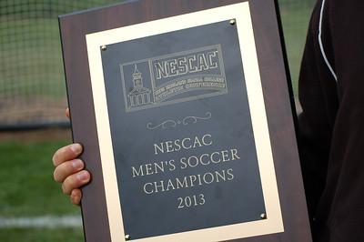 Amherst Men's Soccer 2013