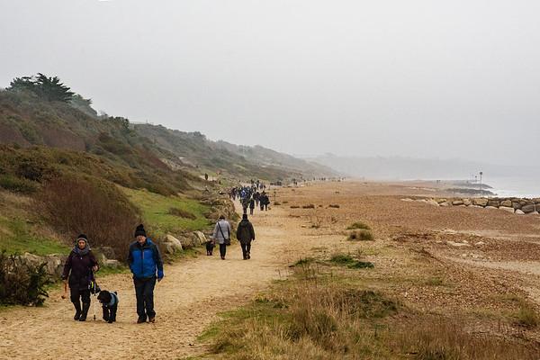 UK: Highcliffe Beach