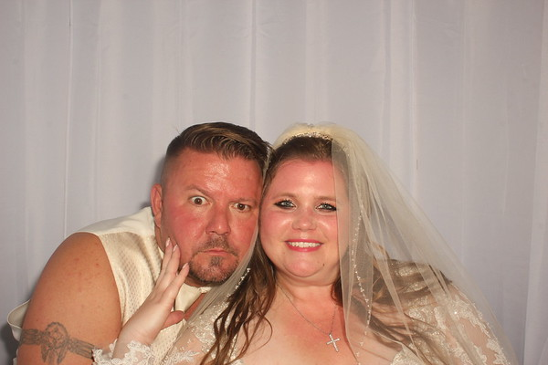 Alicia and Greg's Wedding Photobooth