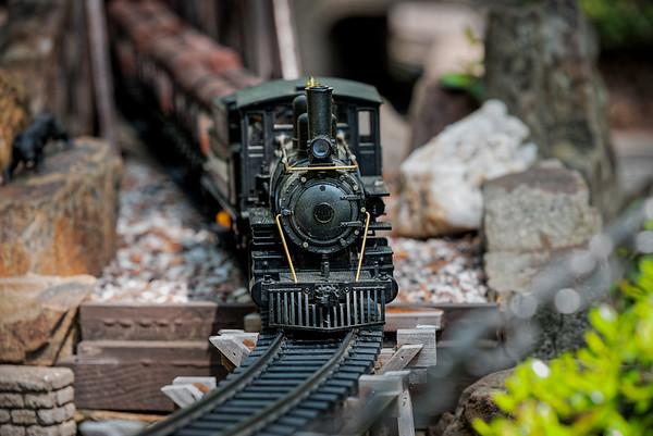 Sugg Model Train Garden