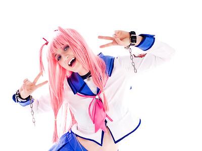 Yui - Angel Beats Cosplay
