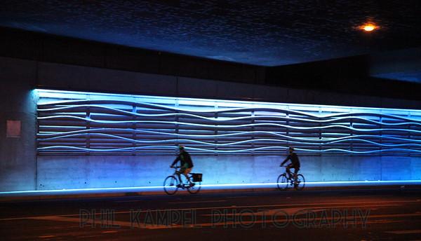 Lighting Installation at Richards Blvd Underpass