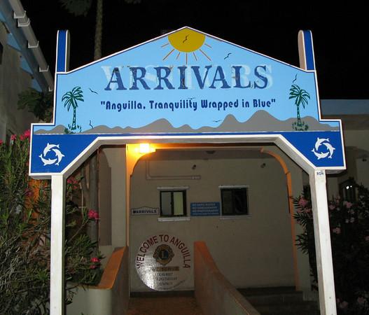 Anguilla, British West Indies - March 2008