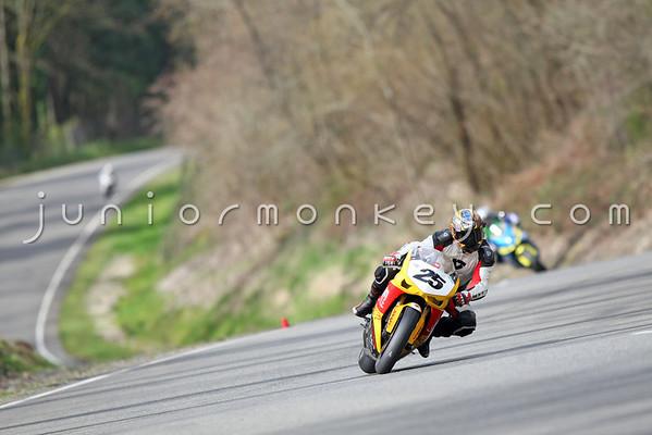 #25 - Yellow Ducati