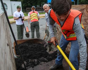 Boy Scout Garden Maintenance 8/12/17