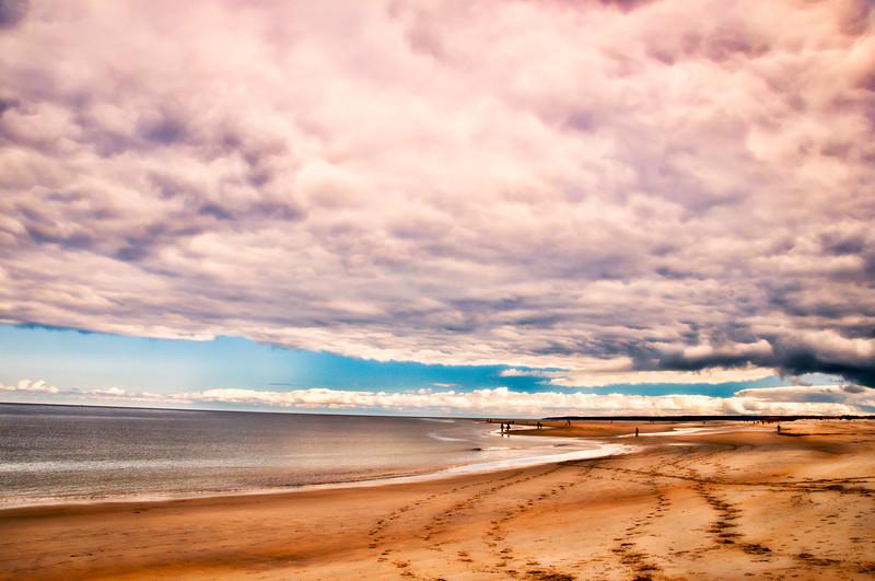 Ipswich Winter Beach