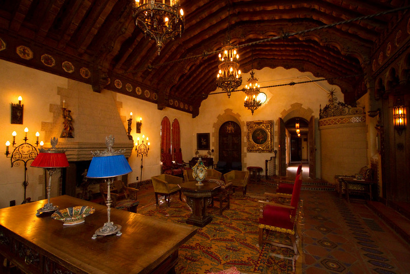 Music room. Scotty's castle.