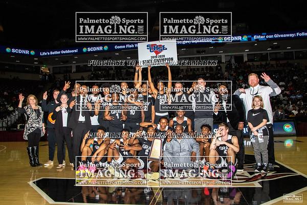 2A State Basketball Championship GCA vs WBHS