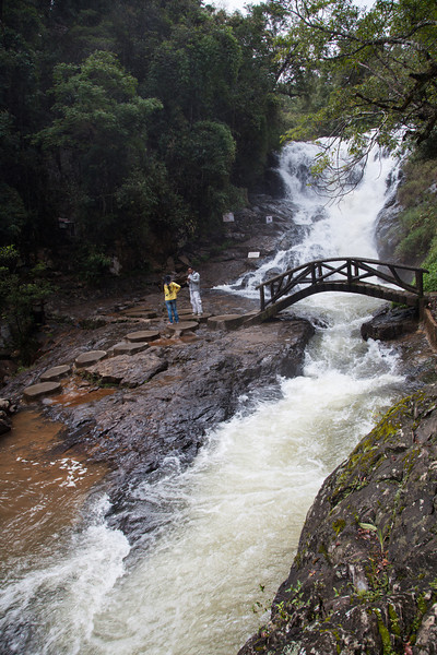 Datanla Falls after some good typhoon rains.