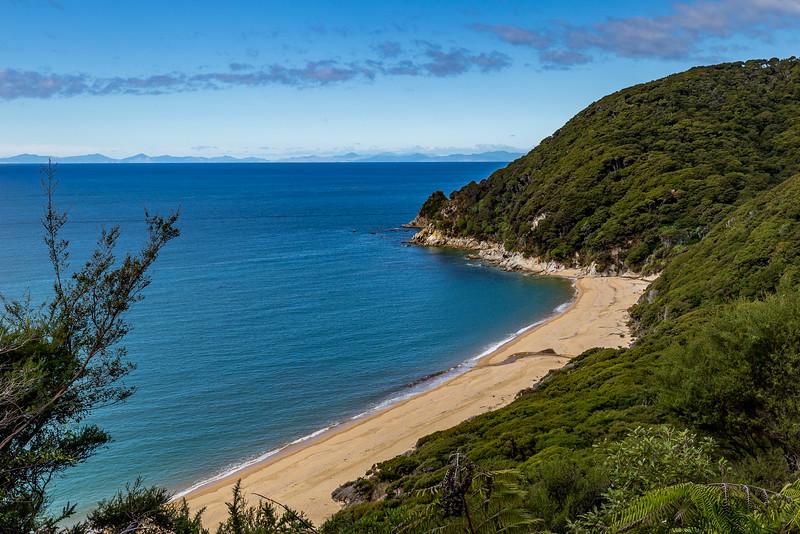 «Abel Tasman Track»: Blick auf die «Anapai Bay»