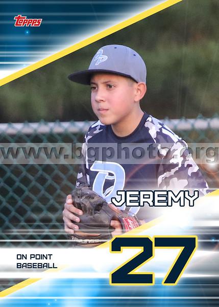 27 Jeremy
