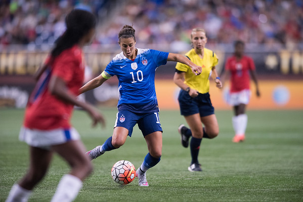 US Woman's  Soccer v Haiti, 9-17-15