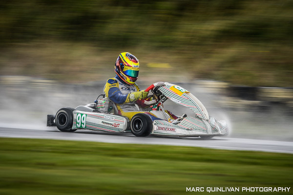 Motorsport Ireland Karting Championship 2019 - Round 7 - Athboy - Alyx Coby