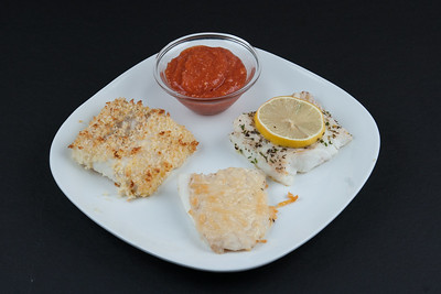 Broiled Flounder Triple Threat
