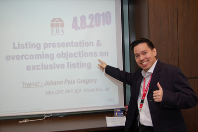 ERA Listing and Exclusive training 20100804