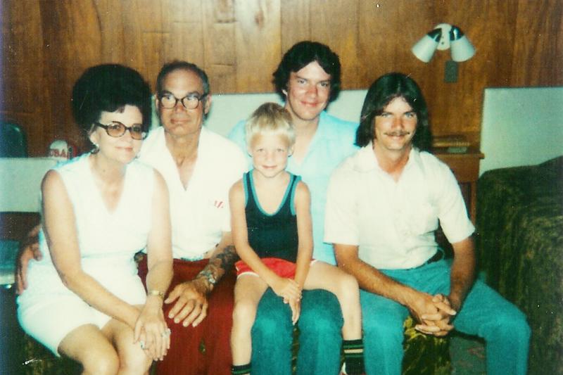 Georgia, Art Sr, Art Jr, Gary, Mark