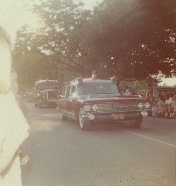 RVFD ambulance and squad Great Falls, VA June 1961