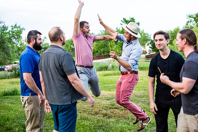 Co-ed Wedding Party games