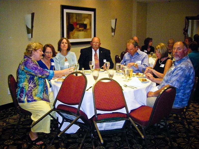 Debbie Rodgers Witherow, Linda Grieve, Cheryl Ross Pisani, Vic Pisani, Steve Parker, Sue Wood Case, Earl Case (GCM1972)