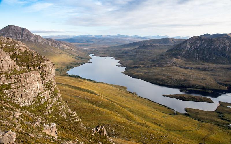 Loch Lurgainn from Stac Pollaidh