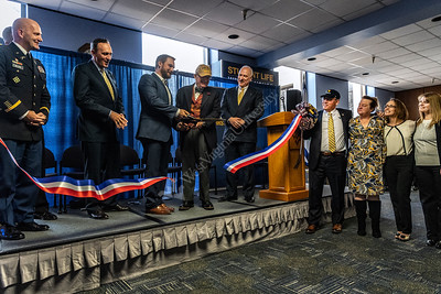 35156 WVU Veterans Military Family Support HQ Ribbon Cutting December 2018