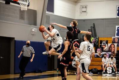 Staples Varsity Boys Basketball vs. Fairfield Warde - March 8, 2021