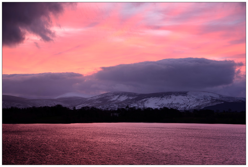 Blessington Lake sunrise