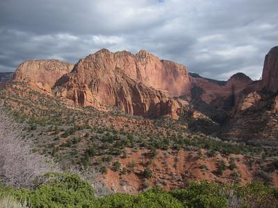 Kolob Canyon, Zion NP UT - 11/15/2013